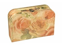 Children´s suitcase 30cm big roses, Leitner collection