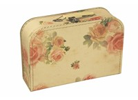 Children´s suitcase 30cm small roses, Leitner collection