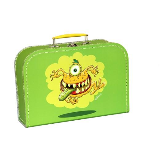Children´s suitcase 30cm green monsters