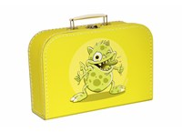 Children´s suitcase 30cm yellow monsters