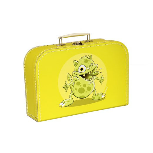 Children´s suitcase 30cm yellow monsters