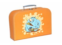 Children´s suitcase 30cm orange monsters