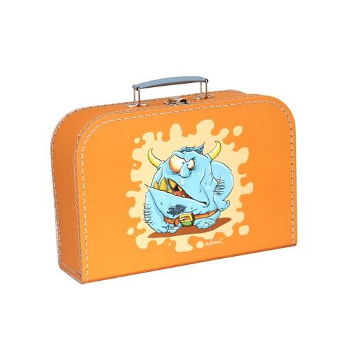 Children´s suitcase 30cm orange monsters