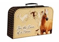 Children´s suitcase 35cm horse