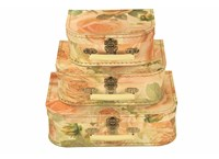 Children´s suitcase big roses 3-set, Leitner collection