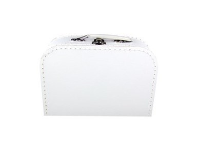 Children's suitcase 20cm white