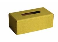 Tissues box rattan edition green