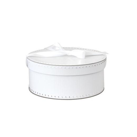 Round box 26cm white