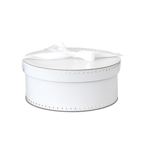Round box 31cm white