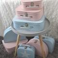 Children´s suitcase 25cm pink