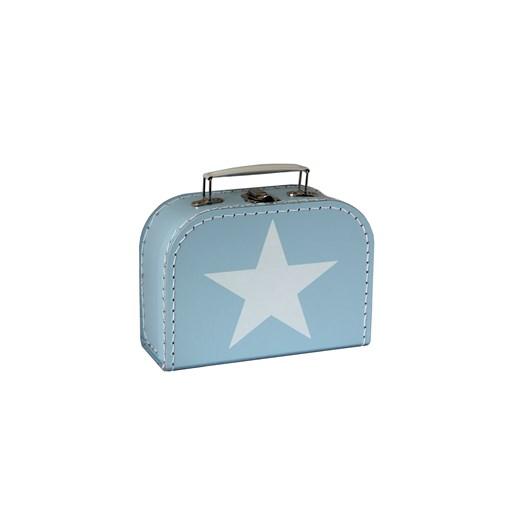 Children´s suitcase 20cm blue with star