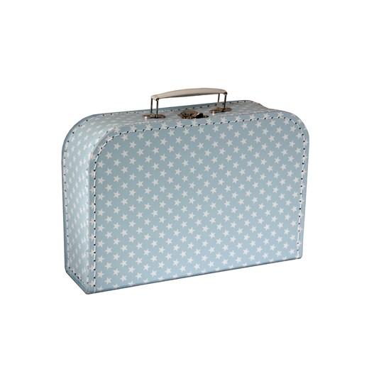 Children´s suitcase 30cm blue with stars