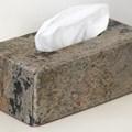 Tissues box stone edition