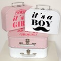 Children´s suitcase It is a girl! 25cm