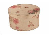 Oval box 29cm small roses, Leitner collection