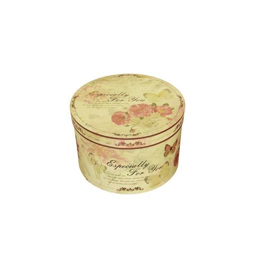 Round box 28cm romantic