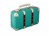 Riveted suitcase 30cm mint