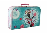 Children´s suitcase 35cm owl