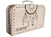 Children's suitcase 35cm Boho style