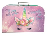 Children´s suitcase 35cm unicorn